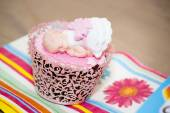 Cupcake for a Baby Shower Party — Stock Photo