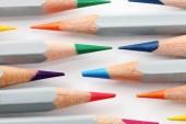 Pencil,multi colored — Stock Photo