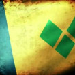 St Vincent and  the Grenadines flag waving — Stock Video #74295725