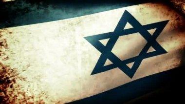Mávání vlajkami Izraele — Stock video