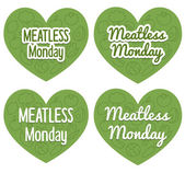 Meatless Monday Banner — Stock Vector