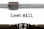 Last Will — Stock Photo