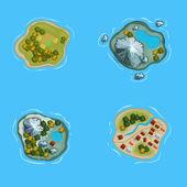 Islands — Stock Vector