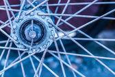 Oldbike hub — Stock Photo