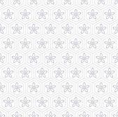 Japanese geometric seamless pattern — Stock Vector