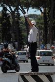 Policía en Roma — Foto de Stock