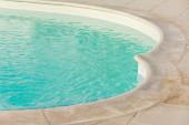 Swimming pool border — Stock Photo