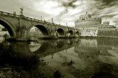 Rome, kasteel saint angel — Stockfoto