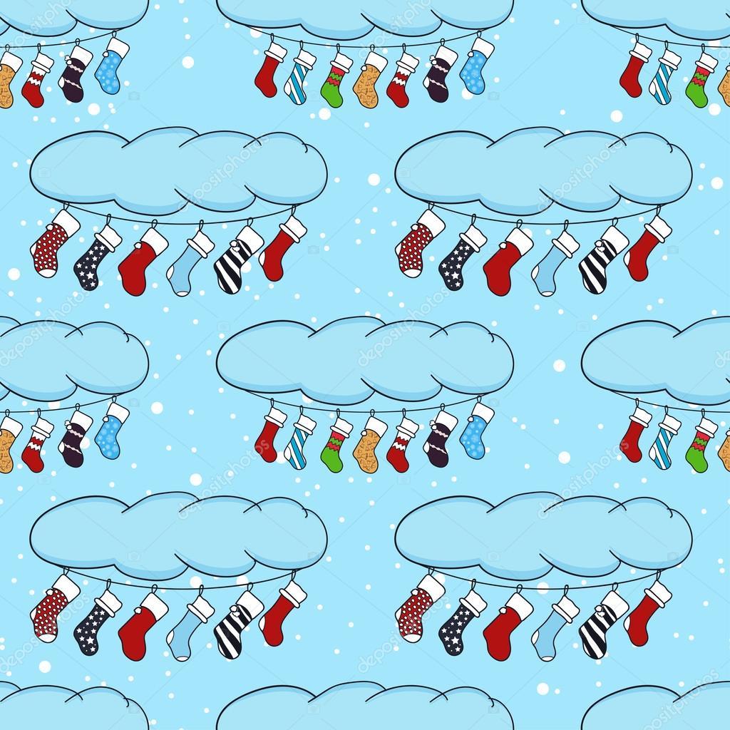 Illustration de dessin anim mignon sur le th me de joyeux no l et bonne ann e avec un hiver - Guirlande joyeux noel ...