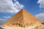 Egyptian great pyramid — Stock Photo