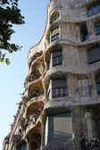 Casa Mila in Barcelona,Spain — Stock Photo