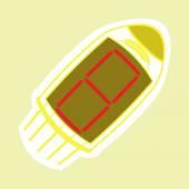 Monochrome icon set with radio tubes — Stock Vector