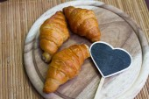 Homemade croissants — Stock Photo