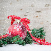 Christmas Decoration. — Fotografia Stock