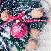 Decoração natal. — Fotografia Stock