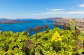 Greece, Santorini, view of the Bay — Stock Photo