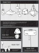 Лампа карты — Cтоковый вектор