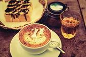 Coffee Mocha hot — Fotografia Stock