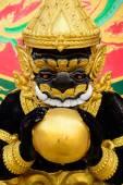 Estátua de Hanuman a forma de arte da Tailândia. — Fotografia Stock