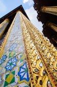 Wat Phra Kaew in Bangkok beautiful in Thailand. — Stock Photo