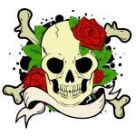 Постер, плакат: Skull and bones
