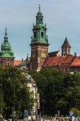 Krakow, Wawel castle — Stock Photo
