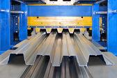 Galvanized steel sheet — Stock Photo