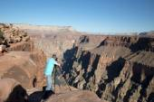 Toroweap Overlook, viewpoint within the Grand Canyon National Pa — Fotografia Stock