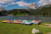 Lake Misurina, Dolomites — Stock Photo