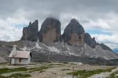 The three peaks of Lavaredo — Stock Photo