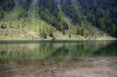 Lago Nambino, treeking of the five lakes — Stock Photo