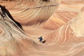 The Paria Canyon, Vermilion Cliffs, Arizona — Stock Photo