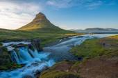 Kirkjufell, Snaefellsnes peninsula, Iceland — Stock Photo