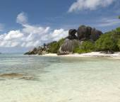 Anse Source D'Argent, Seychelles — Stock Photo