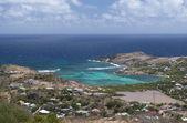 St. Barth Island, Caribbean sea — Stock Photo
