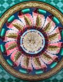 ヒンドゥー教寺院の天井 — ストック写真