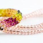 Necklace Diamond and Bangle — Stock Photo #75256027