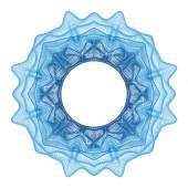Guilloche decorative element — Stockvector