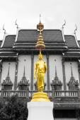 Buddha statue in Wat Ban Rai — Stock Photo