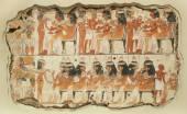 Ancient fresco on the stone 3 — Stock Photo