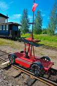 Handcar (Draisine) — Stock Photo