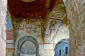 An Old fresco on the wall of St Nicholas church, Demre — Stock Photo