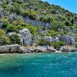 Ancient submerged city in Kekova — Stock Photo #79073740