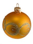 Glass Xmas-tree ball — Stock Photo