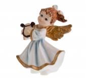 Xmas-tree angel figurine — Stock Photo