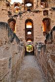 Roman Amphitheatre of El Jem — Stock Photo