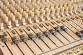 Musical mixer — Stock Photo