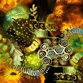 Abstract watercolor art — Stock Photo