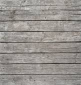 Square vintage wooden panel with horizontal planks and gaps — Stock Photo