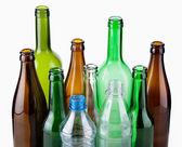 Empty bottles — Stock Photo